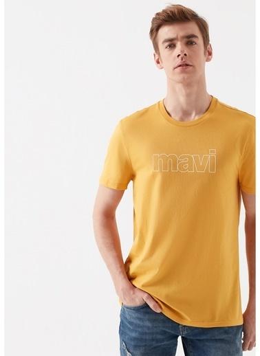 Mavi Tişört Sarı